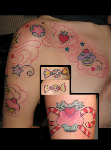 Is a candy tattoo a badge saying I like sex No not necessarily but I do