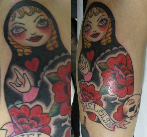 Russian Doll Tattoo