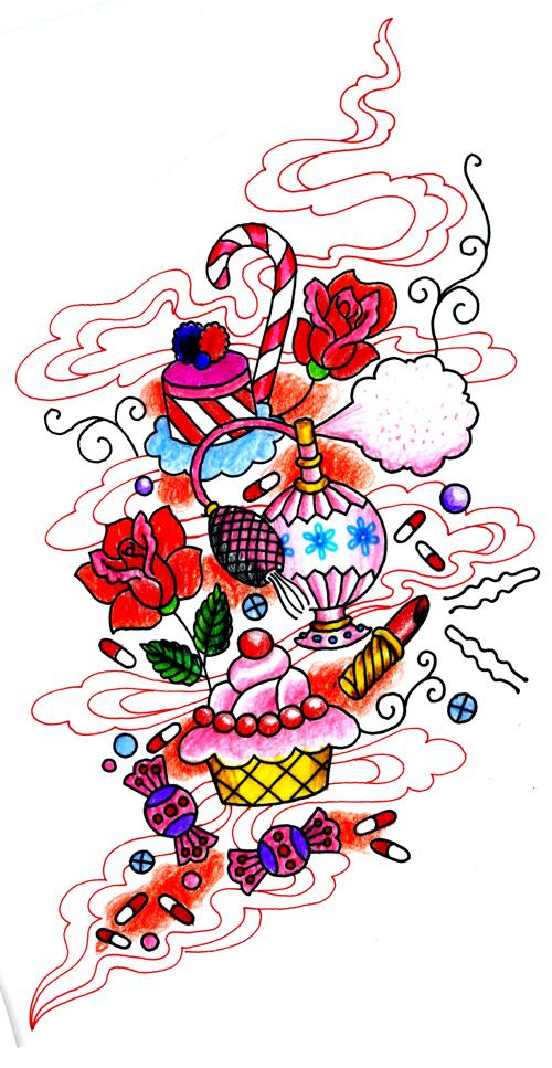 la vita e amore tattoo. la vita e amore tattoo. mi